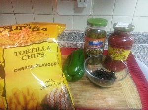 Nachos Ingredients